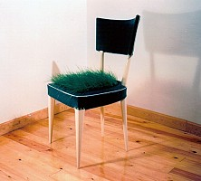 la silla verde / the green chair